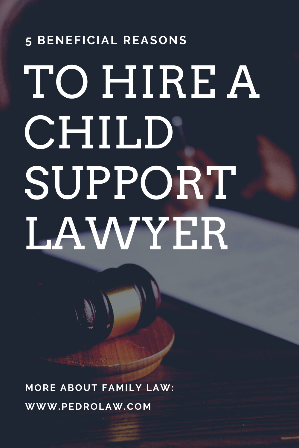 hiring a child support lawyer